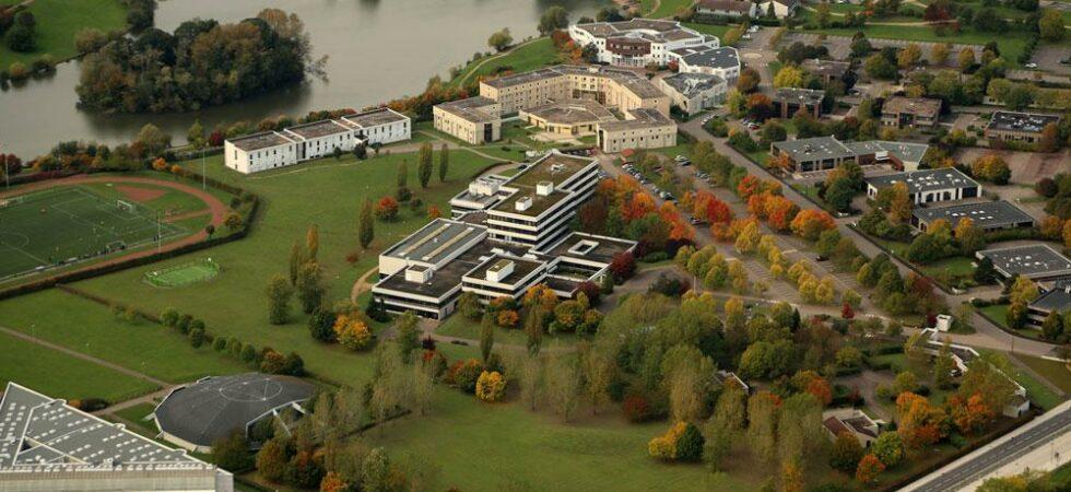 Le bâtiment CentraleSupélec de Metz vers 2020 (auteur inconnu)